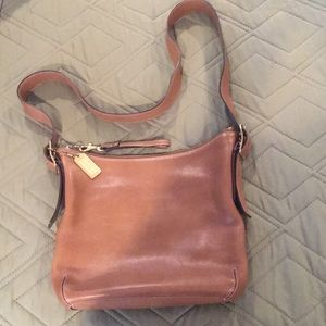 Coach leather bag, older retired style!